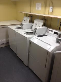 Washing Machine and Dryer in the building