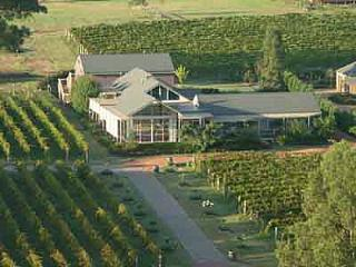 Hunter Valley Cooperage B & B surrounded by Shiraz