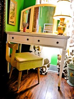 Vanity in Delta Princess Bedroom