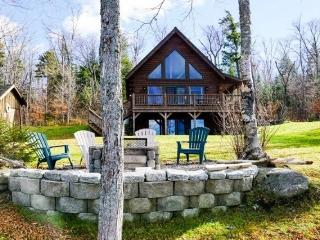 #103 Brand-new post & beam log cabin with 2 master bedrooms, Rockwood
