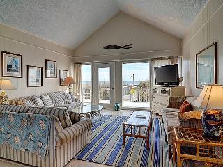 M & M Candy - Majestic Oceanfront View, Spacious Deck, Pet Friendly, Near Shops, Topsail Beach