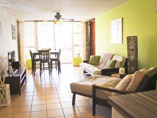 3 bed beachfront apt close to El Yunque, San Juan, Rio Grande