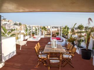 Penthouse unique design Dalt Vila view, Ibiza