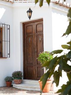 De voordeur