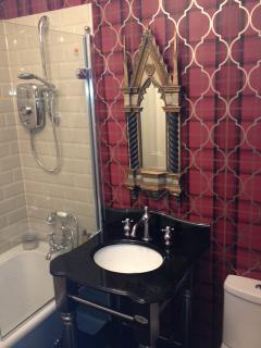 old nunnery bathroom with roll top bath