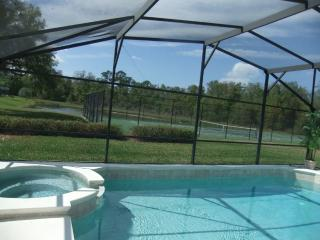 4 Bed Villa with own pool. Conservation view. Gated Resort near Disney