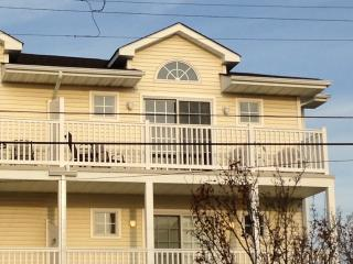 Ours is the third floor corner unit, closest to the beach. The living room flows to the balcony.