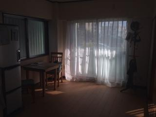 Japanese style room in modern apartment near park, Tomigusuku
