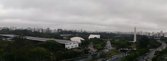 Parque Ibirapuera, na proximidade