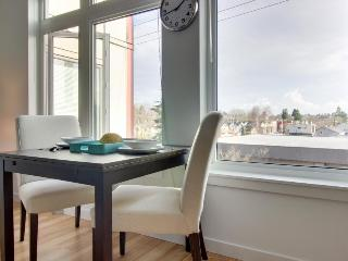 Dog-friendly condo across the street from Green Lake, plus a shared roof deck!
