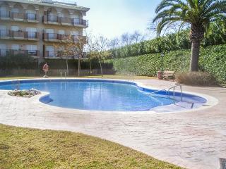Soleado apartamento con piscina y terraza, Sant Carles de la Rapita