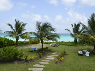 Three bedroom beach front condo