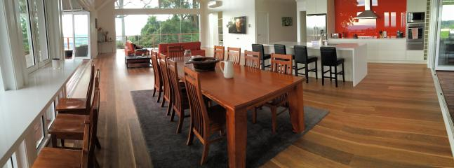 The great room (Kitchen, dining, lounge and entertaining)