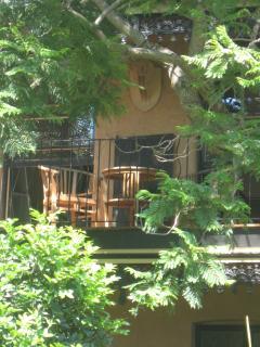 Upstairs verandah