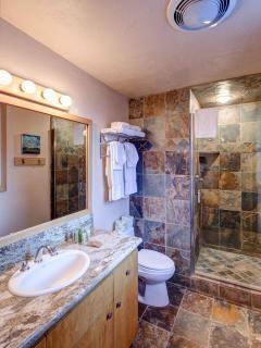 Mid-Level full updated bathroom