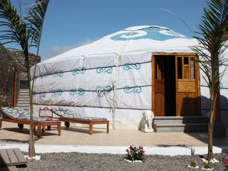 Amazing family size Eco Yurt Royale, near paradise beach, pool, car/transfers