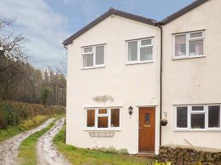 1 FOREST COTTAGES, stone-built, woodburner, lawned area, pet-friendly, in Treflach, Oswestry, Ref 4019