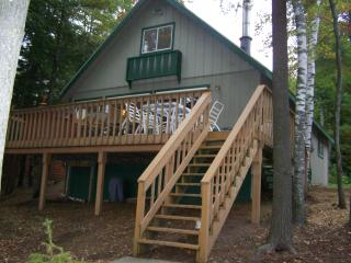 Sunset Beach Lakefront Chalet w/OUTDOOR HOT TUB!, Gaylord