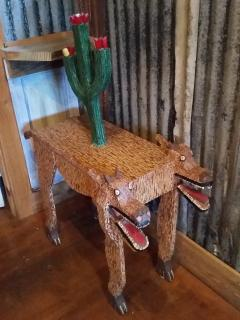 Folk Art coyote