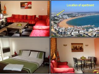 Nice apartment in AGADIR-CENTER near beach + Wifi