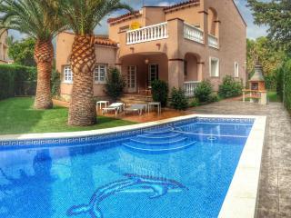 B02 NAPOLEON villa en playa piscina privada wifi, Miami Platja
