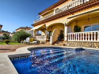 C04 FORTUNY1 adosado con piscina,  jardín y wifi, Miami Platja