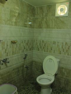 The attached toilet