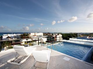 Penthouse de playa con piscina privada - Menesse 401, Playa del Carmen