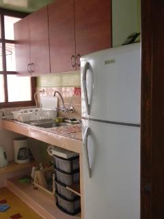 Fully equipped kitchen with terrace