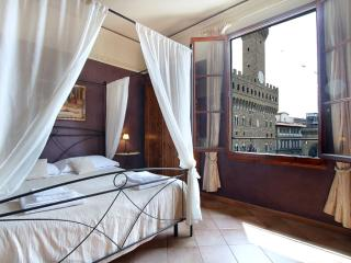 Stella Signoria apartment in Duomo with WiFi, integrated air conditioning (hot /