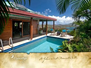 Mooncottage|Coral Bay, St. John, USVI|1 Bedroom, 2 Baths
