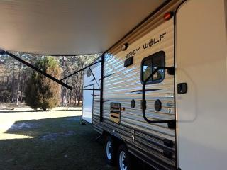 cozy camper rental for a beach trip in Gulf Shores, Daphne