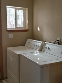 Washer/Dryer in Laundry Room off Kitchen