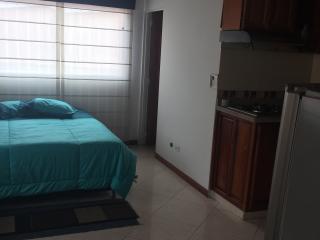 Confortable apartaestudio, muy cerca al metro, Medellin