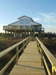 New for 2016! A Huge upper deck expansion and beach walk over
