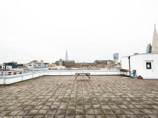 The Roof Terrace is enormous! Great for looking out over the rooftops of London