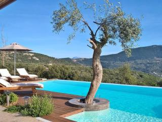 Luxury spacious stone-made villa with private pool, next to our own winery!