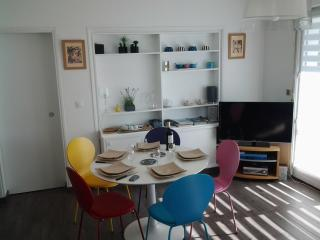 Gîte appartement Monjoly, T2 4 personnes, parking, Biarritz