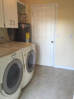 Shared indoor laundry