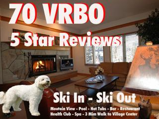 SKI IN/OUT Beaver Creek Lux 2 Bdm  60 5 Star Revws