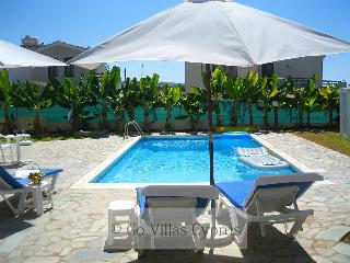 Seafront 3BR Villa, private pool, wifi, sea views
