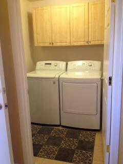 State-of-the-art LG washer and dryer