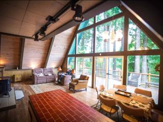 Beautiful A Frame Mountain Cabin for Year Round Fun ~ RA65717, Packwood