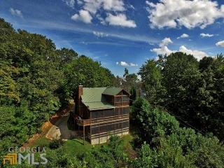 Amazing City/Mountain Views! 4br/3ba Cabin in Aska, Blue Ridge