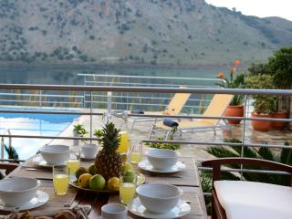 Villa Bluefairy with Panoramic Lake View!, Kournas