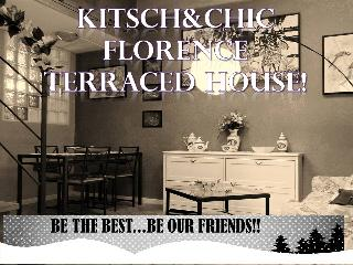 Kitsch&Chic Florence Terraced RENT House, Florencia