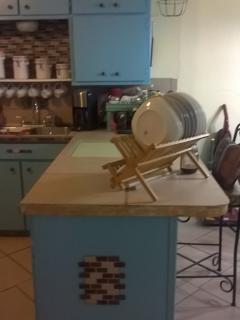 Shared kitchen view