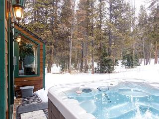 2BR Wooded Mountain Home with Private Hot Tub!