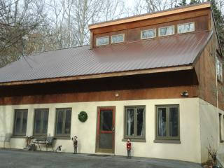 The new metal roof