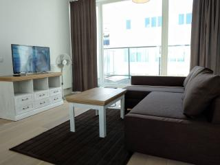 La Monnaie 5B apartment in Brussels Centre with WiFi, private terrace & lift.